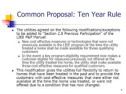 1 investor owned utility liee care budget applications