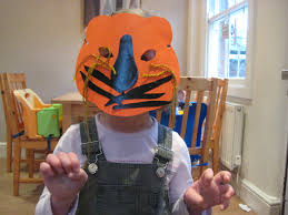 tiger mask halloween the tiger who came to tea activities nurturestore