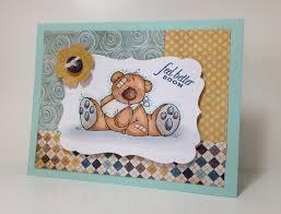 feel better bears he golfs i stamp feel better bears