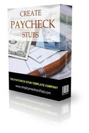 Sle Pay Stub Template Excel Paycheck Stub Templates Are Simple And Easy To Use No Software