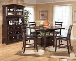 bar height kitchen table ashley counter height dining sets
