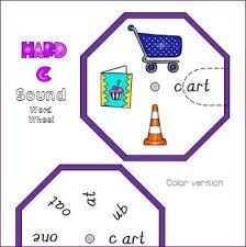 hard and soft c sound word wheels and foldable worksheets tpt