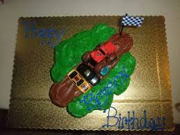 monster truck cake ideas with cupcakes 54339 monster truck