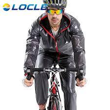 mtb rain jacket locle waterproof cycling jersey rain jacket ropa ciclismo windproof