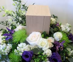 memorial flowers funeral flowers for urns worcester florists sprout funeral