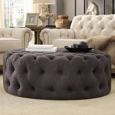 round cocktail ottoman u2013 furniture favourites