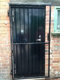 Residential Security Doors Exterior Metal Security Door Gate Security Door Ideas