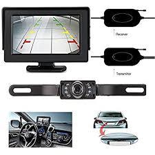 amazon com pyle wireless backup car camera rearview monitor