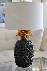 Pineapple Light Fixture Vintage Overscale Ceramic Pineapple L Mecox Gardens