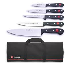 wusthof gourmet 5 piece knife bag u2013 mychefknives co uk