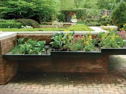 Retaining Wall Garden Bed by Decor U0026 Tips Garden Decor With Inspiring Raised Garden Beds