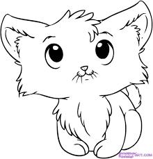 kitten coloring page cartoon kitten google search wind chimes pinterest