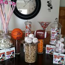 sports candy theme candy buffet pinterest candy theme
