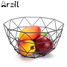 metal fruit basket radny geometric metal fruit basket kosylig