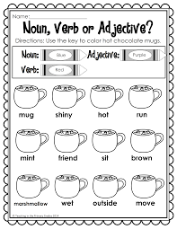 First Grade Math Coloring Worksheets Winter Math And Literacy Printables No Prep Common Cores