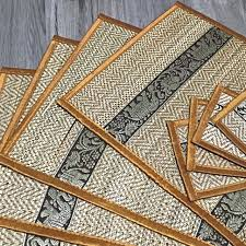 table mats and coasters thai table mats coasters a set home appliances on carousell