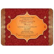 mehndi invitation invitation paisley mehndi ceremony bridal wedding shower