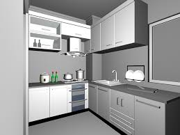 Kitchen 3d Design L Shaped Kitchen Design 3d Model 3dsmax Files Free