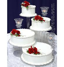 wedding cake stand large 4 tier cake stand with 3 tier candle set wedding cake
