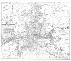 In And Out Map 1960 Map Of Reading