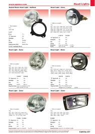 accessories 2014 lighting page 239 sparex parts lists