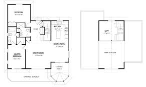 best cottage floor plans house plans the birchview cedar homes