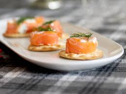 creamy smoked salmon roll recipe hgtv