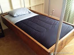 Suspended Bed Frame Industrial Wood And Pipe Hanging Beds Infarrantly Creative