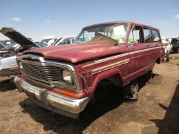 jeep wagoneer junkyard find 1981 jeep wagoneer the truth about cars