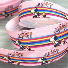 snoopy ribbon roseoftheparty rakuten global market snoopy ribbon 1 meter