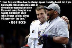 Ray Lewis Meme - joe flacco s quote about ray lewis is faux john madden s photos