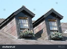 two old irish dormer windows stock photo 19730947 shutterstock