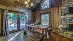 Rustic Cabin Refined Rustic Rental Cabin Blue Ridge Ga