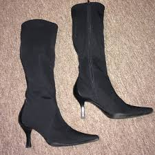s boots nine 81 nine boots black stretch boot from sherian 3