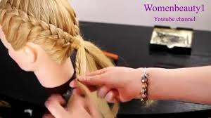 easy and quick hairstyles for school dailymotion 10 easy quick everyday hairstyles for long hair side french braid
