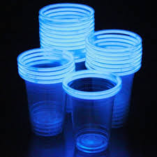 party cups glow stick party cups pack of 12 assorted colors