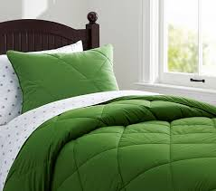 Pottery Barn Comforters Cozy Comforter Full Queen Green Pottery Barn Kids