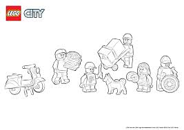 60097 city square colouring page lego city activities city
