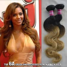 cheap two tone human hair weave 1b 27 brazilian body wave ombre