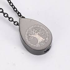 ashes pendant hln9795 tree of cremation keepsake urns for human ashes
