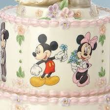 wedding wishes cake disney s minnie s wedding day wishes cake topper figurine lenox