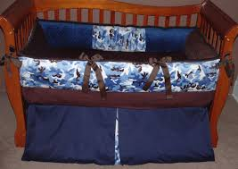 Camouflage Bedding For Cribs Blue Camo Crib Bedding Sets Home Inspirations Design Camo Crib