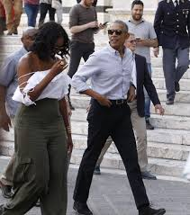 Obama S Vacation The Obamas Vacation Under The Tuscan Sun As The Trumps Work Abroad
