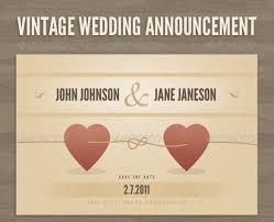 wedding announcement 21 wedding announcement templates free sle exle format