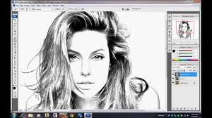 photo sketch photoshop tutorial how to make sketch using image