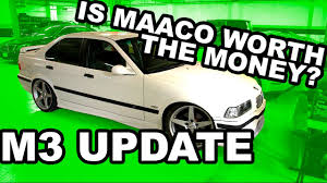 what a maaco paint job looks like bmw giveaway update youtube
