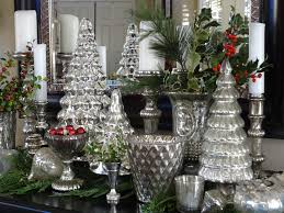 window display woods of bell trees ornaments glass decor