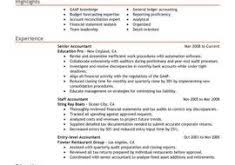 Accountant Resume Samples by Download Accounting Resume Examples Haadyaooverbayresort Com