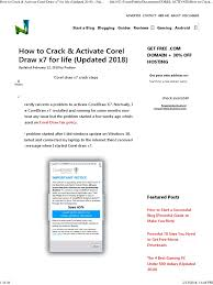 corel draw x7 error 38 how to crack activate corel draw x7 for life updated 2018