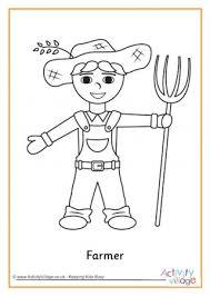 farmer coloring